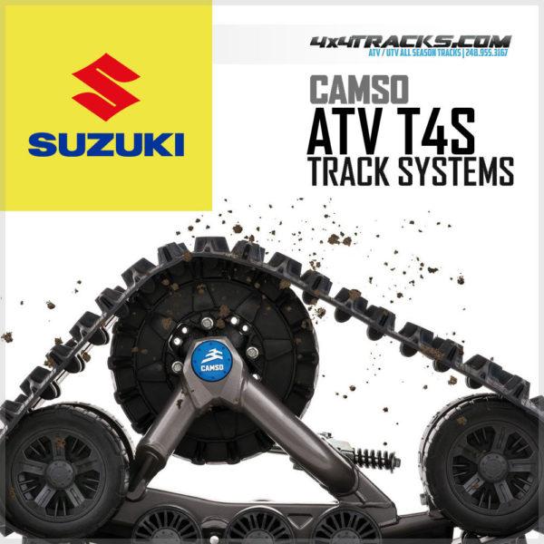 Suzuki Camso T4S ATV Track System